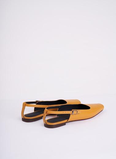 Mizalle Casual Ayakkabı Hardal